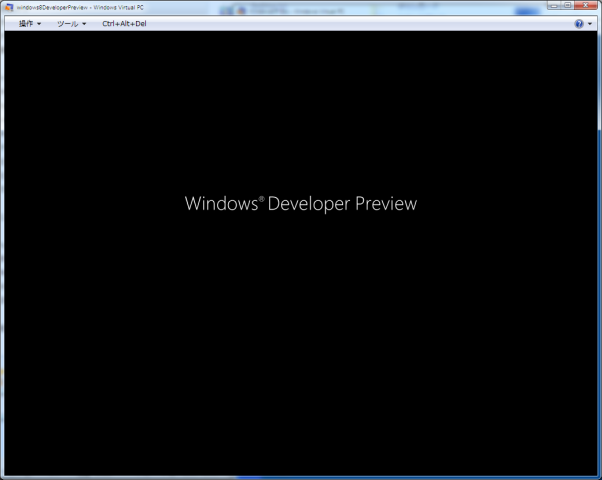 Windows 8(Windows Developer Preview) loading 32bit