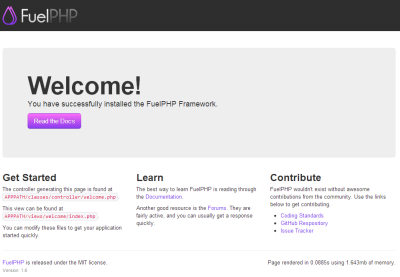 FuelPHP1.6